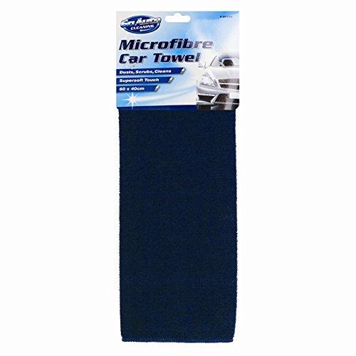 Car Towel 60cm x 40cm Microfibre Accessories Cleaning Windows Floors Dust Dirt Paint