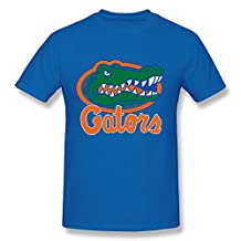Men's University Of Florida Gators Mascot T Shirts Latest Black