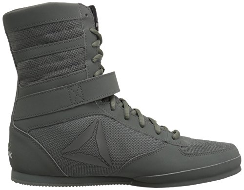 Reebok Mænds Boksning Boot-sorteper Sneaker Sorteper - Ironstone / Sort DQygS