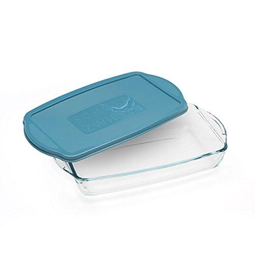 Tapa Azul Resistente Al Calor cocción Platos para horno ...