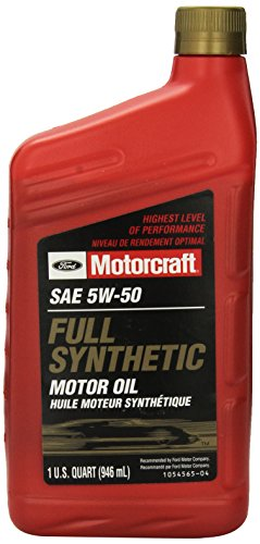 Genuine ford fluid xo 5w50 qgt sae 5w 50 full synthetic for 5w 50 synthetic motor oil