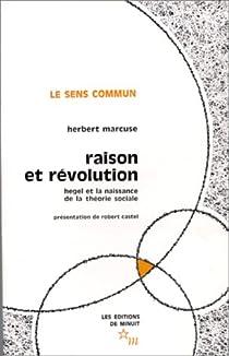 Raison et révolution par Marcuse
