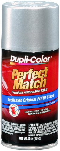 Charcoal Paint Metallic Dark - Dupli-Color BFM0236 Silver Charcoal Metallic Ford Exact-Match Automotive Paint - 8 oz. Aerosol