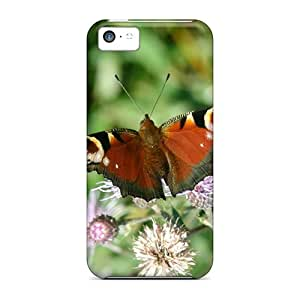 New Arrival Premium 5c Cases Covers For Iphone (butterfly Widescreen 01)