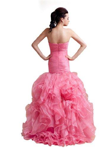 schöne L aus Luxuriöse Meerjungfrau Abendkleider Organza YxOda0n