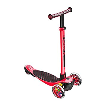 Yvolution Y Glider XL 3 Wheeled Scooter for Boys and Girls Age 3 – 8 Years Extra-Wide Deck