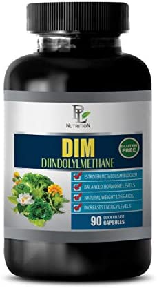 Immune System Vitamins for Women – DIM DIINDOLYLMETHANE – Estrogen Metabolism Blocker – dim Supplement Estrogen Blocker – 1 Bottle 90 Capsules