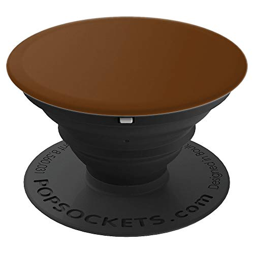 Caramel Brown Color - PopSockets Grip and Stand for Phones and Tablets