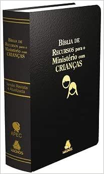 Bíblia de recursos para o ministério com crianças - Luxo preta