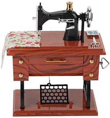 Gwill - Mini máquina de Coser Vintage, Creativa y Retro, Caja de ...