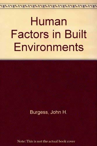 Human Factors in Built Environments