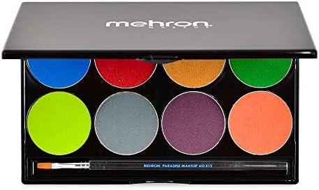 mehron Paradise Makeup AQ 8 Color Palette Tropical (並行輸入品)