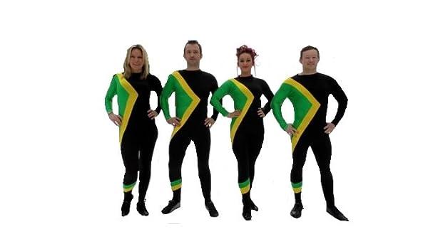Cool Runnings Bobsled Equipo de Jamaica Disfraz tamaño XXL: Amazon.es: Juguetes y juegos