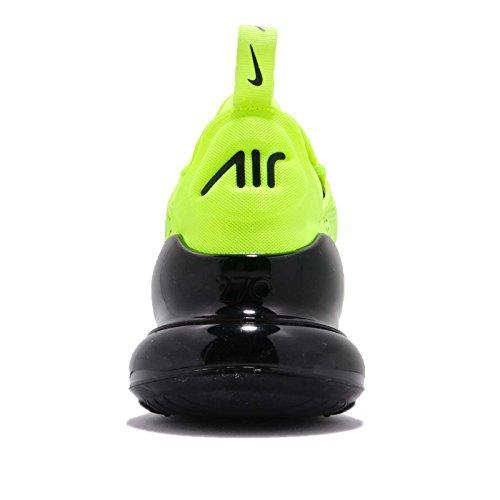 Nike Air Max 270, Scarpe da Ginnastica Uomo, Giallo (Volt/Black/Dark Grey/White), 43
