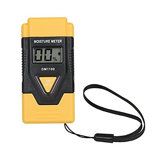 Doradus DM1100 3in1 2Pins LCD Digital Wood Moisture Temperature Meter