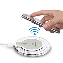 i-Sonite White (Pack) Qi Wireless Charging Induction Pad Ultra-Slim Qi-Enabled Charger Docking Station with Qi Wireless Charging Receiver Module Charging Port Adapter for LG G3 Stylus