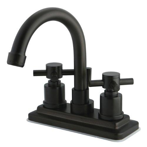 (Kingston Brass KS8665DX Concord Lavatory Faucet, 4-7/8