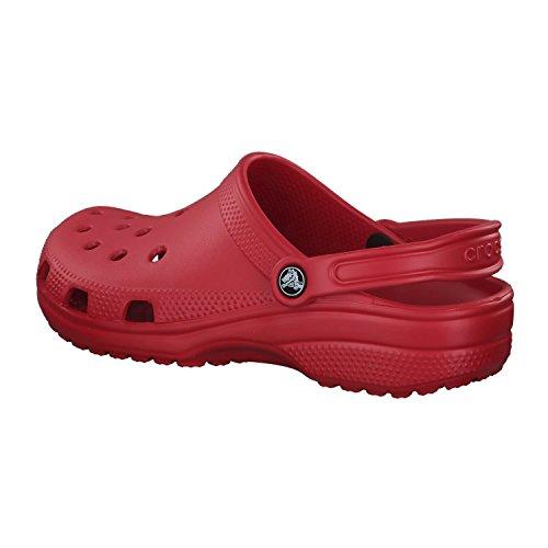 Adulte Rouge Pepper Classic Mixte Sabots Crocs a7qgY