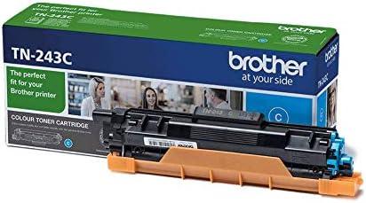 Brother TN243C - Cartucho de tóner cian original, para las ...