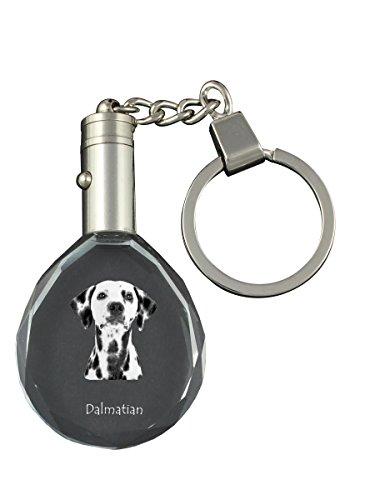 (Dalmatian, Dog Crystal Keyring, Keychain, Exceptional Gift)