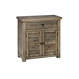 """Jofran: , Slater Mill, Cabinet, 32""""W X 15""""D X 32""""H, Medium Brown Pine Finish, (Set of 1)"""