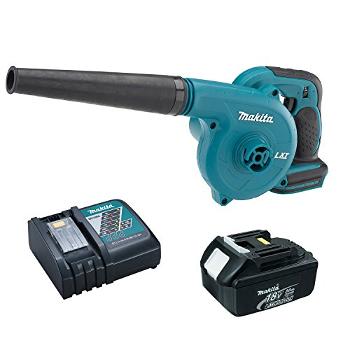 Makita DUB182Z 18-Volt LXT VS Cordless Blower with 3.0 Ah Battery, and Charger