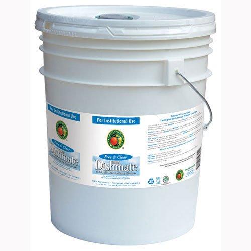 Dishmate Manual Dishwashing Liquid Free and Clear,5 gallon pail - 1 (Dishwashing Liquid 5 Gallon Pail)