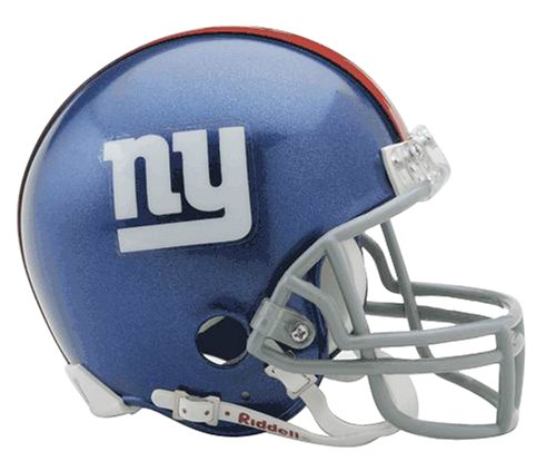 NFL New York Giants Replica Mini Football Helmet]()