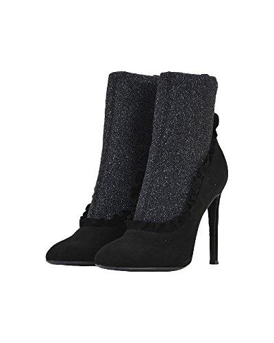 Giuseppe Zanotti Cuir Bottines Femme Design I770047001 Noir 0Ow7q