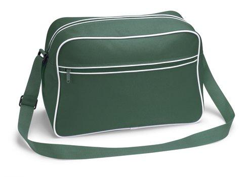 TASCHE Retro Shoulder / Polyester / 40x28x18 cm / bottlegreen / 684.29 B7h7S