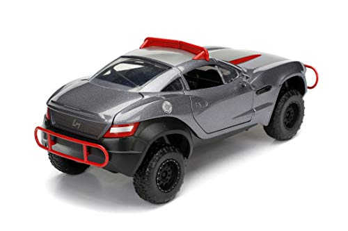 Jada Toys Fast & Furious 1:24 Letty's Rally Fighter Die-cast Car, Toys for Kids and Adults, Gray, Standard 6