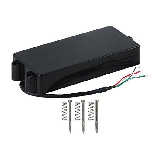 (FLEOR Sealed Humbucker Pickup Bass Pickup Ceramic Magnet for MM Bass 5 String Bass)