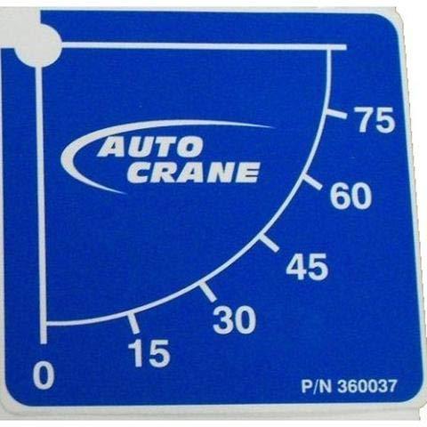 Auto Crane Cable Assy 5//16 5005H80 A