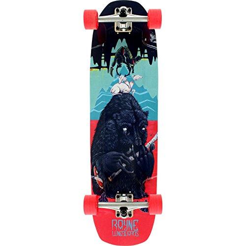 Rayne Brightside Bear Complete Cruiser Skateboard - 9.25