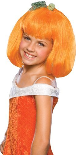 Rubies Costumes 185486 Pumpkin Spice Child Wig