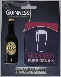 Imán de cerveza Guinness de porcelana pura Genio 3011