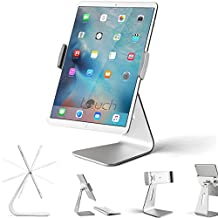 "iPad Pro Tablet Holder Stand, Stouch 360° Rotatable Aluminum Alloy Desktop Holder Tablet Stand for Samsung Galaxy Tab Pro S iPad Pro 10.5"" 9.7"" 12.9'' iPad Air Surface Pro 4 and other Tablet"
