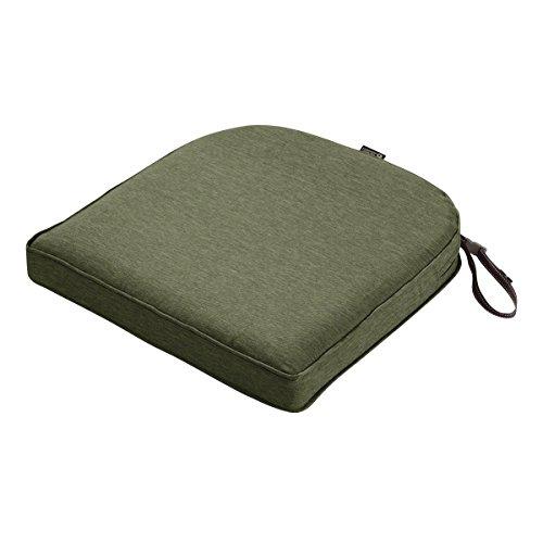Fern Slipcover - Classic Accessories Montlake Cont. Seat Cushion Foam & Slip Cover, Heather Fern, 18x18x2