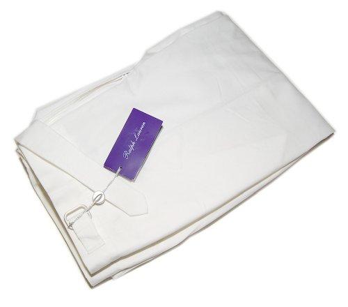 Polo Ralph Lauren Purple Label Mens White Cotton Dress Pants 34 (Ralph Lauren White Pants)