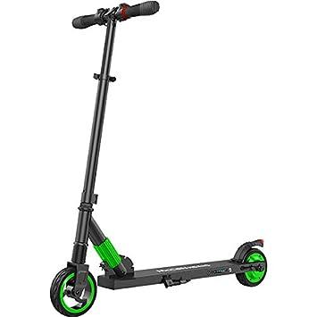 Megawheels Eléctrico Scooter, Ultraligero Plegable E-Scooter 250W Motor Velocidad Máxima de hasta 14 mph para Adultos, Adolescentes (Verde): Amazon.es: ...