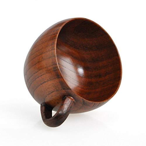 Wesoky Wooden Cup Coffee Tea Beer Wine Juice Milk Water Mug Cups, Mugs & ()