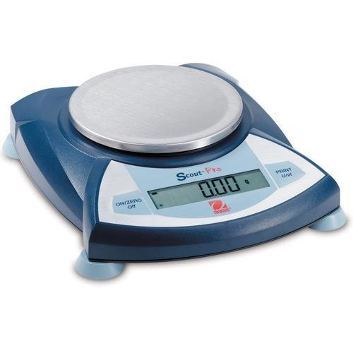Ohaus SP602 AM Scout Pro Portable Electronic Balance, 600g Capacity, 0.01g Readability by Ohaus