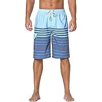 Nonwe Men's Beachwear Board Shorts Quick Dry with Mesh...