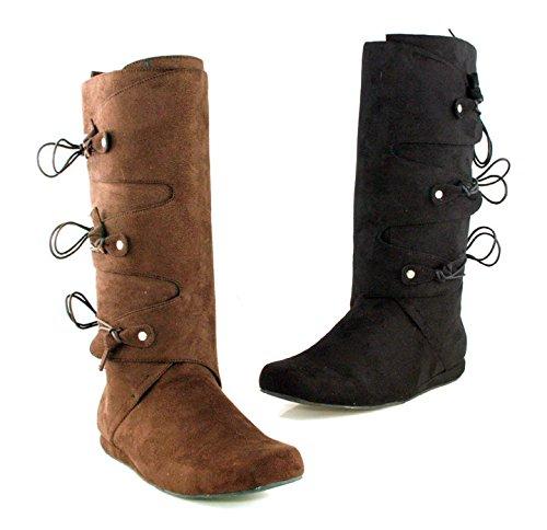 Ellie Skor Mens 111-thomas 1heel Boot Blk