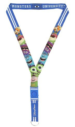 (Disney Pin Accessory - Deluxe Reversible Lanyard - Monsters University)