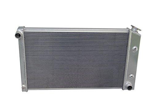 ZC573 3 Rows All Aluminum Radiator for 1970-1981 Pontiac Firebird L6/V8 ()