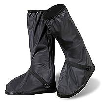 Sheltons 防水 雨具 シューズカバー 靴カバー 滑り止め 梅雨対策 男女...