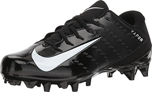 Nike Men's Vapor Untouchable Varsity 3 TD Football Cleat Black/White/Anthracite Size 7 M US (Nike Vapor Carbon Fly Td Cleats For Sale)