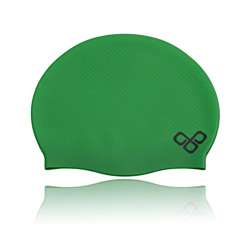 Silicone Waterproof Swim Pool & Bathing Cap for Adult Men Women Kids...