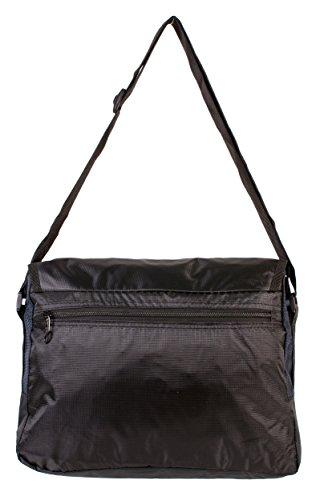 Bag Medium Rock Shoulder Black Mens Silver Navy qfwO4